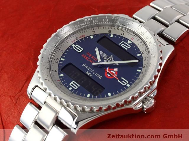 Used luxury watch Breitling Chronospace steel quartz Kal. 56 Ref. A56012  | 140332 01
