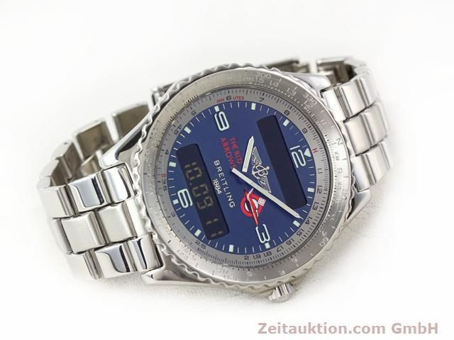 Used luxury watch Breitling Chronospace steel quartz Kal. 56 Ref. A56012  | 140332 03