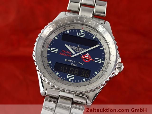 Used luxury watch Breitling Chronospace steel quartz Kal. 56 Ref. A56012  | 140332 04