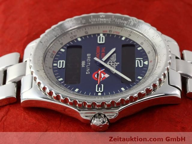 Used luxury watch Breitling Chronospace steel quartz Kal. 56 Ref. A56012  | 140332 05