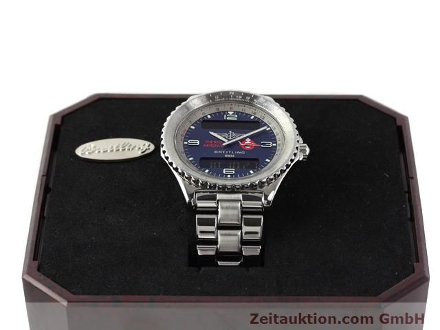 Used luxury watch Breitling Chronospace steel quartz Kal. 56 Ref. A56012  | 140332 07