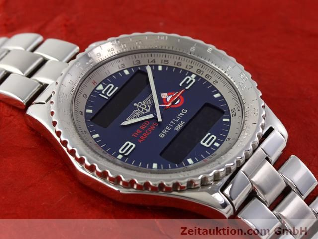 Used luxury watch Breitling Chronospace steel quartz Kal. 56 Ref. A56012  | 140332 16