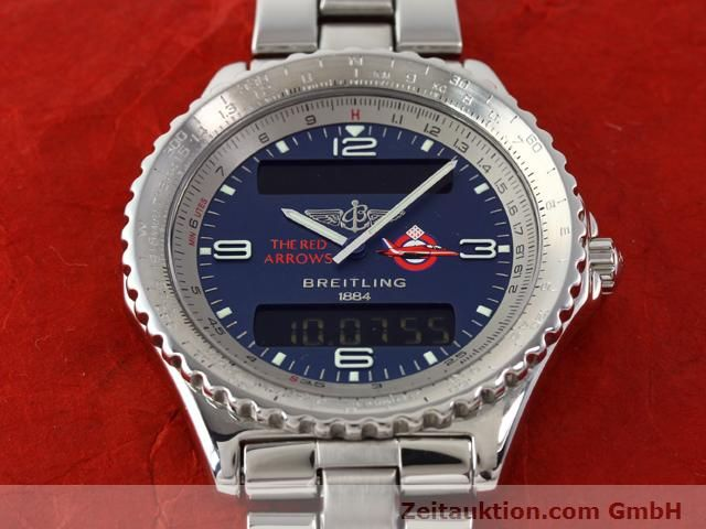 Used luxury watch Breitling Chronospace steel quartz Kal. 56 Ref. A56012  | 140332 17