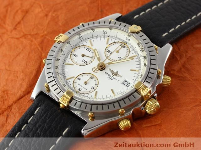 Used luxury watch Breitling Chronomat gilt steel automatic Kal. ETA 7750 Ref. B13047  | 140337 01