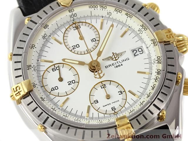 Used luxury watch Breitling Chronomat gilt steel automatic Kal. ETA 7750 Ref. B13047  | 140337 02
