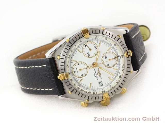 Used luxury watch Breitling Chronomat gilt steel automatic Kal. ETA 7750 Ref. B13047  | 140337 03