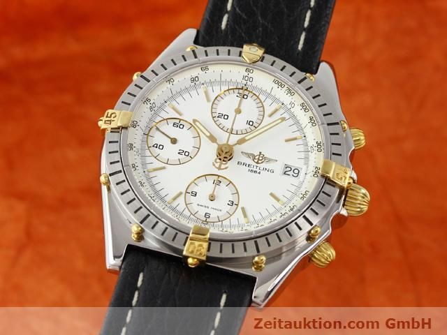 Used luxury watch Breitling Chronomat gilt steel automatic Kal. ETA 7750 Ref. B13047  | 140337 04