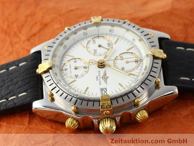 Used luxury watch Breitling Chronomat gilt steel automatic Kal. ETA 7750 Ref. B13047  | 140337 05