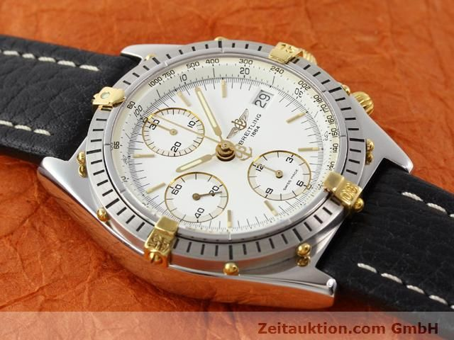 Used luxury watch Breitling Chronomat gilt steel automatic Kal. ETA 7750 Ref. B13047  | 140337 13