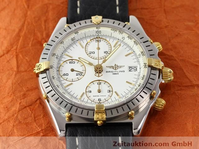 Used luxury watch Breitling Chronomat gilt steel automatic Kal. ETA 7750 Ref. B13047  | 140337 14