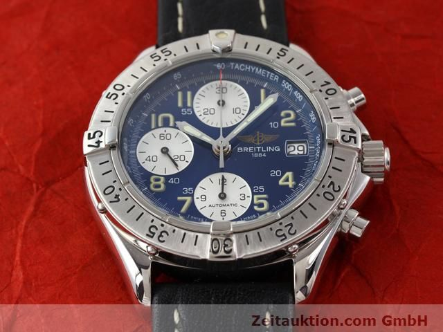 Used luxury watch Breitling Colt steel automatic Kal. ETA 7750 Ref. A130351  | 140342 15