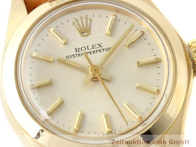 Used luxury watch Rolex Oyster Perpetual 18 ct gold automatic Kal. 2030 Ref. 6718  | 140345 02
