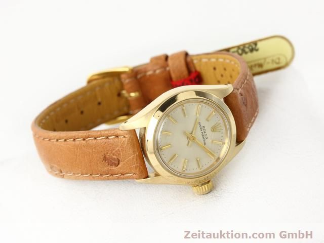 Used luxury watch Rolex Oyster Perpetual 18 ct gold automatic Kal. 2030 Ref. 6718  | 140345 03