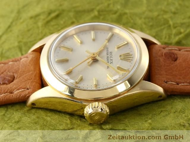 Used luxury watch Rolex Oyster Perpetual 18 ct gold automatic Kal. 2030 Ref. 6718  | 140345 05