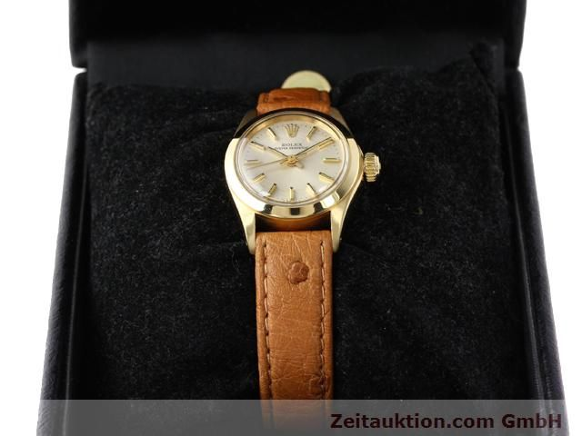 Used luxury watch Rolex Oyster Perpetual 18 ct gold automatic Kal. 2030 Ref. 6718  | 140345 07