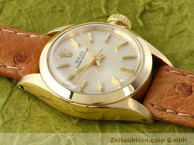 Used luxury watch Rolex Oyster Perpetual 18 ct gold automatic Kal. 2030 Ref. 6718  | 140345 12