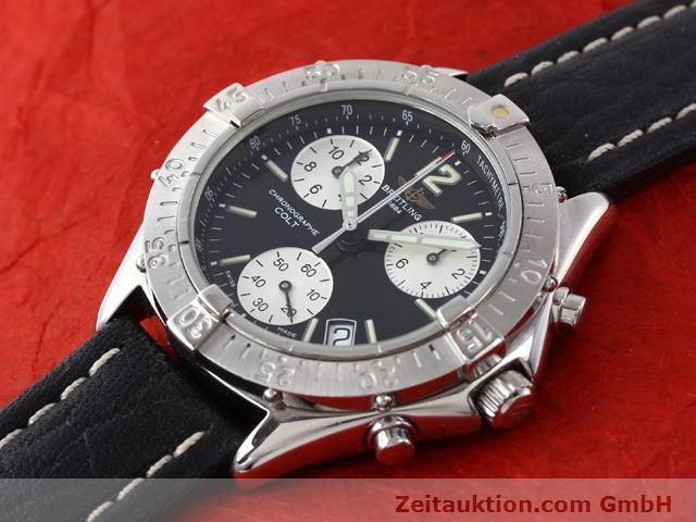 Used luxury watch Breitling Colt steel quartz Kal. ETA 251262 Ref. A53035  | 140347 01