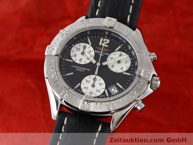 Used luxury watch Breitling Colt steel quartz Kal. ETA 251262 Ref. A53035  | 140347 04