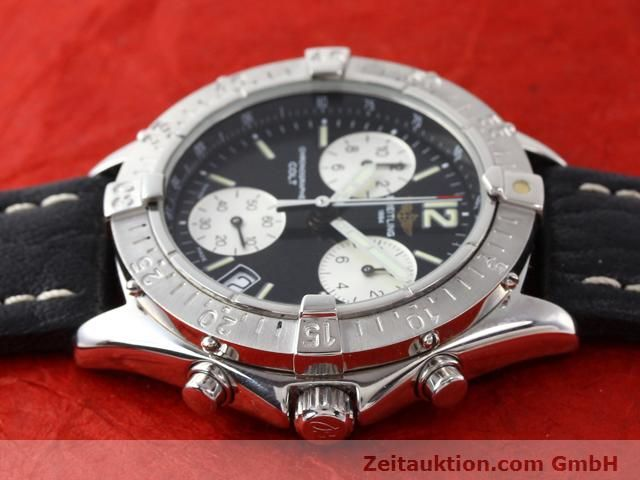 Used luxury watch Breitling Colt steel quartz Kal. ETA 251262 Ref. A53035  | 140347 05