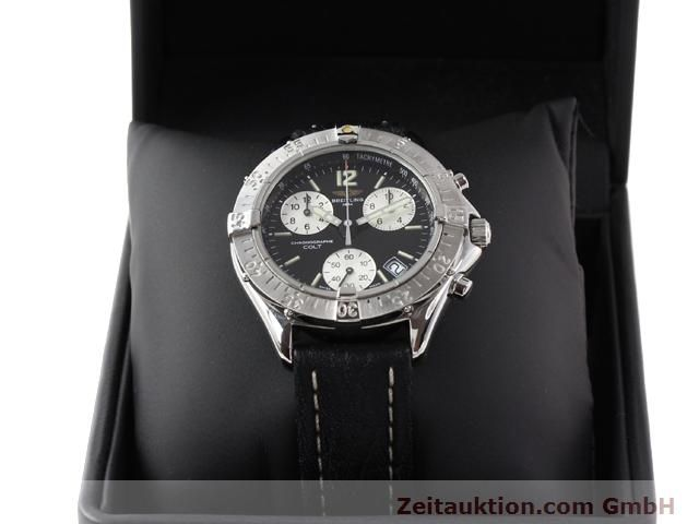 Used luxury watch Breitling Colt steel quartz Kal. ETA 251262 Ref. A53035  | 140347 07