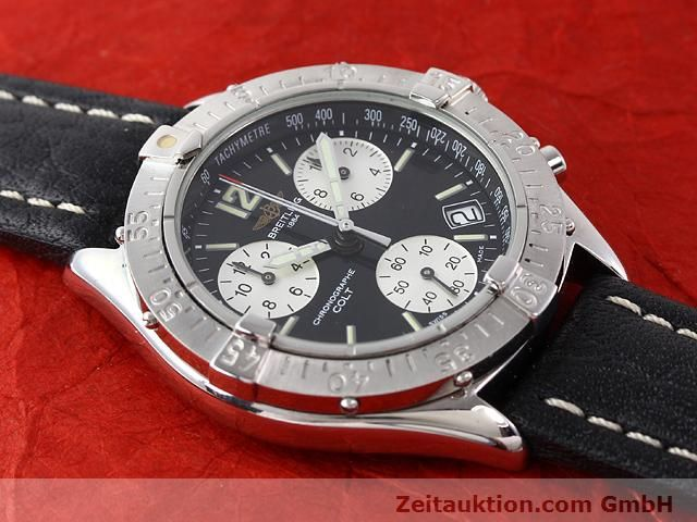 Used luxury watch Breitling Colt steel quartz Kal. ETA 251262 Ref. A53035  | 140347 12