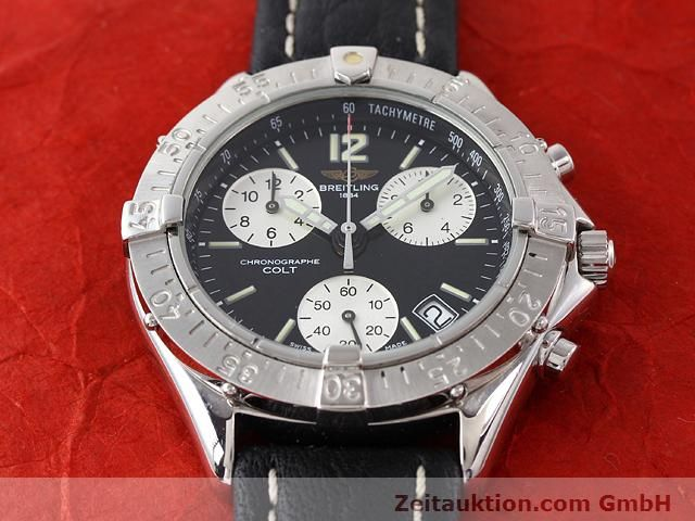Used luxury watch Breitling Colt steel quartz Kal. ETA 251262 Ref. A53035  | 140347 13