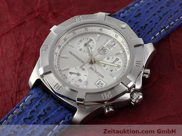 Used luxury watch Tag Heuer Professional steel quartz Kal. ETA 251262 Ref. CN1111  | 140350 01