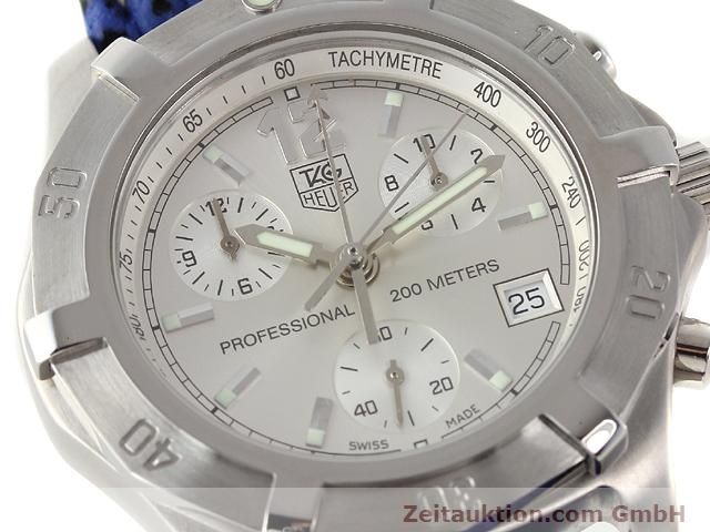Used luxury watch Tag Heuer Professional steel quartz Kal. ETA 251262 Ref. CN1111  | 140350 02