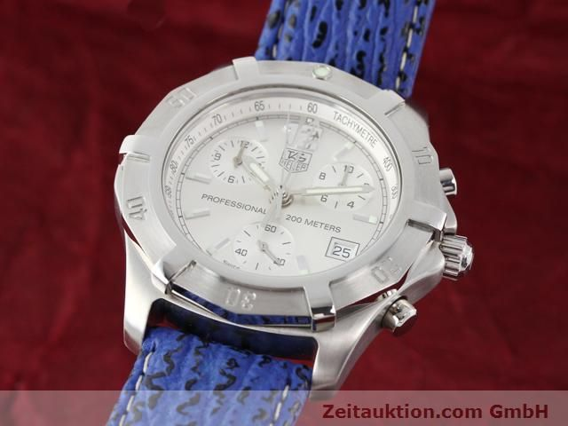 Used luxury watch Tag Heuer Professional steel quartz Kal. ETA 251262 Ref. CN1111  | 140350 04