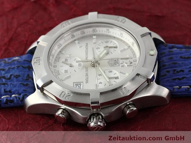 Used luxury watch Tag Heuer Professional steel quartz Kal. ETA 251262 Ref. CN1111  | 140350 05