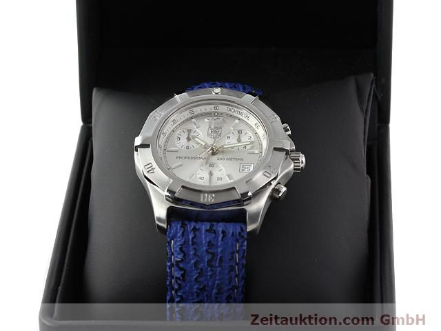 Used luxury watch Tag Heuer Professional steel quartz Kal. ETA 251262 Ref. CN1111  | 140350 07