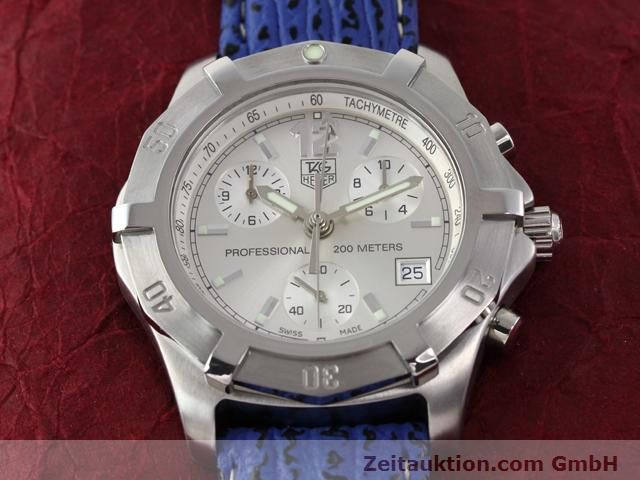 Used luxury watch Tag Heuer Professional steel quartz Kal. ETA 251262 Ref. CN1111  | 140350 13