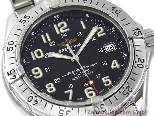 Used luxury watch Breitling Superocean steel automatic Kal. ETA 2824-2 Ref. A17040  | 140354 02