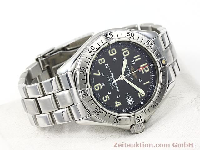 Used luxury watch Breitling Superocean steel automatic Kal. ETA 2824-2 Ref. A17040  | 140354 03