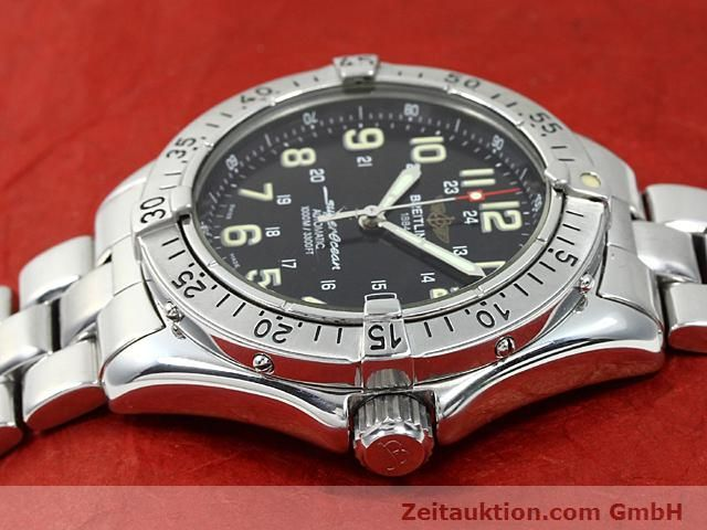Used luxury watch Breitling Superocean steel automatic Kal. ETA 2824-2 Ref. A17040  | 140354 05