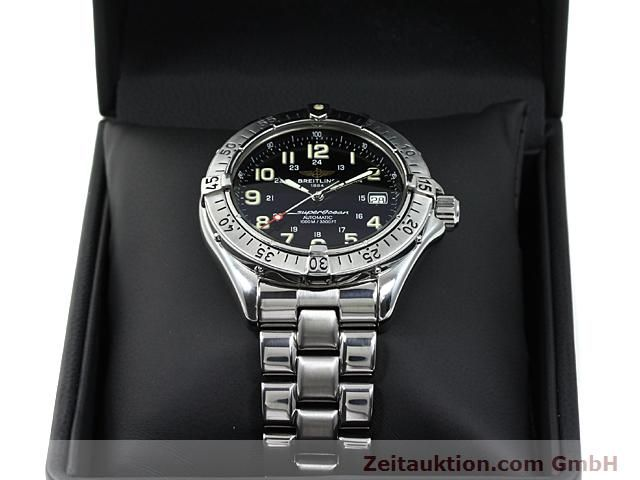 Used luxury watch Breitling Superocean steel automatic Kal. ETA 2824-2 Ref. A17040  | 140354 07