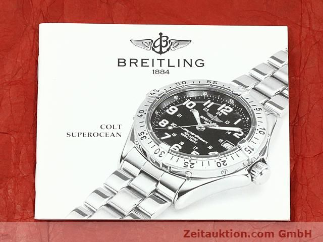 Used luxury watch Breitling Superocean steel automatic Kal. ETA 2824-2 Ref. A17040  | 140354 08
