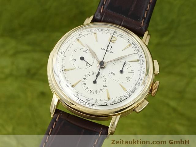 Used luxury watch Omega * 18 ct gold manual winding  | 140357 04