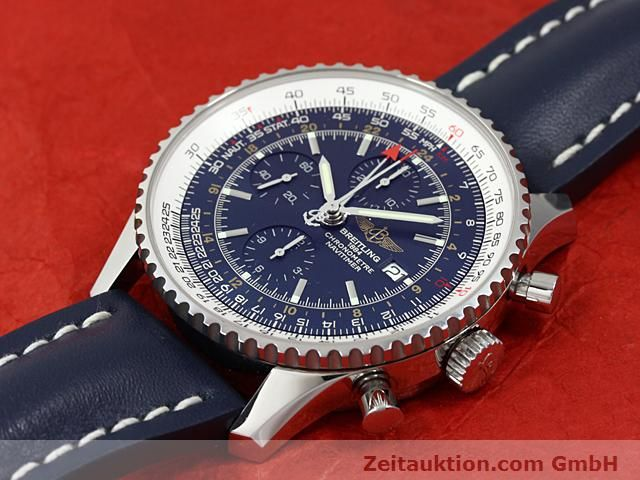 Used luxury watch Breitling Navitimer steel automatic Kal. ETA 7754 Ref. A24322  | 140359 01