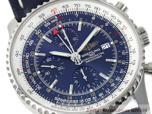 Used luxury watch Breitling Navitimer steel automatic Kal. ETA 7754 Ref. A24322  | 140359 02
