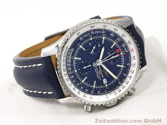 Used luxury watch Breitling Navitimer steel automatic Kal. ETA 7754 Ref. A24322  | 140359 03