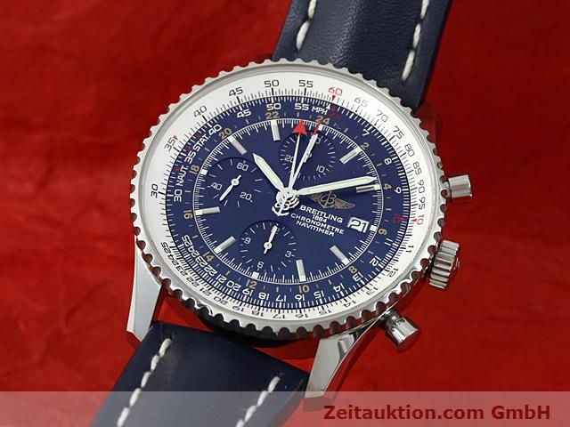 Used luxury watch Breitling Navitimer steel automatic Kal. ETA 7754 Ref. A24322  | 140359 04