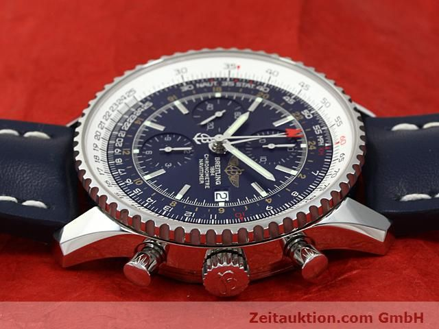 Used luxury watch Breitling Navitimer steel automatic Kal. ETA 7754 Ref. A24322  | 140359 05