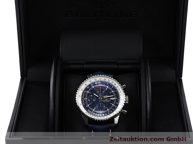 Used luxury watch Breitling Navitimer steel automatic Kal. ETA 7754 Ref. A24322  | 140359 07