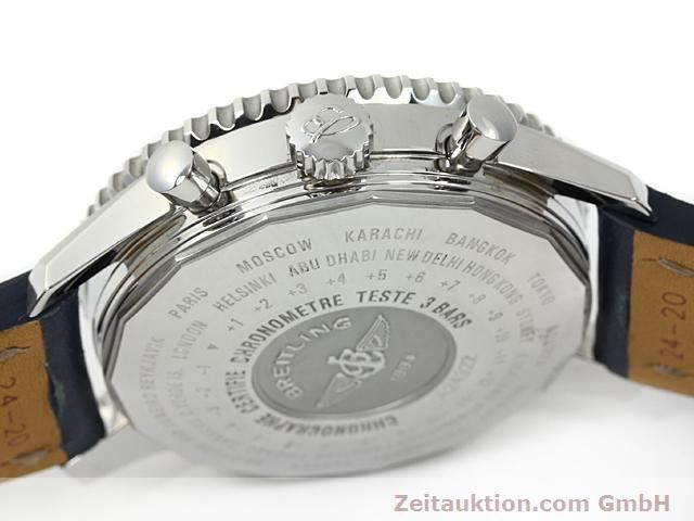 Used luxury watch Breitling Navitimer steel automatic Kal. ETA 7754 Ref. A24322  | 140359 12