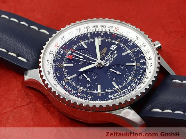 Used luxury watch Breitling Navitimer steel automatic Kal. ETA 7754 Ref. A24322  | 140359 16