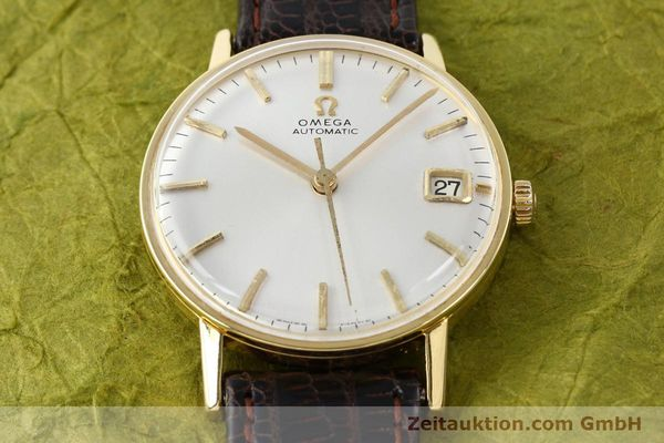 Used luxury watch Omega * 18 ct gold automatic Kal. 562 Ref. 162002  | 140361 02