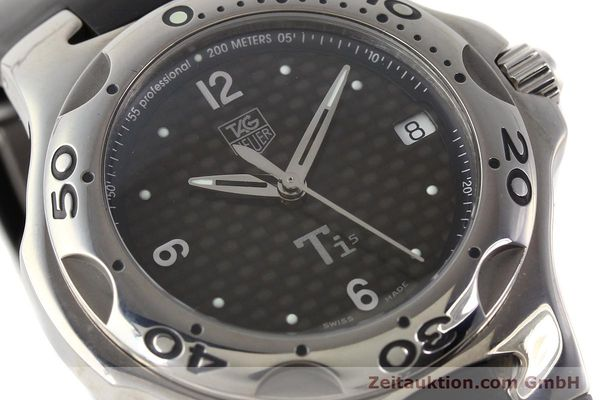 Used luxury watch Tag Heuer Kirium titanium quartz Ref. WL1180  | 140365 02