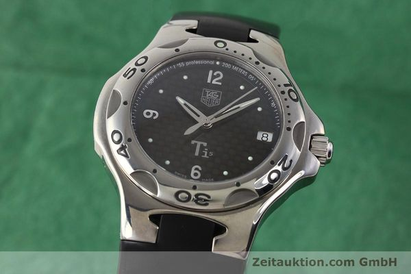 Used luxury watch Tag Heuer Kirium titanium quartz Ref. WL1180  | 140365 04