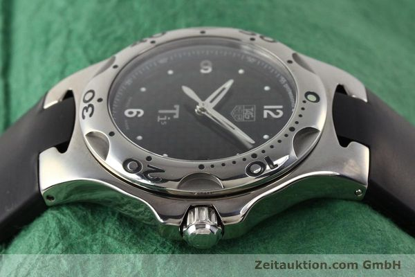 Used luxury watch Tag Heuer Kirium titanium quartz Ref. WL1180  | 140365 05